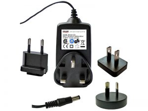 Plug top power adaptors