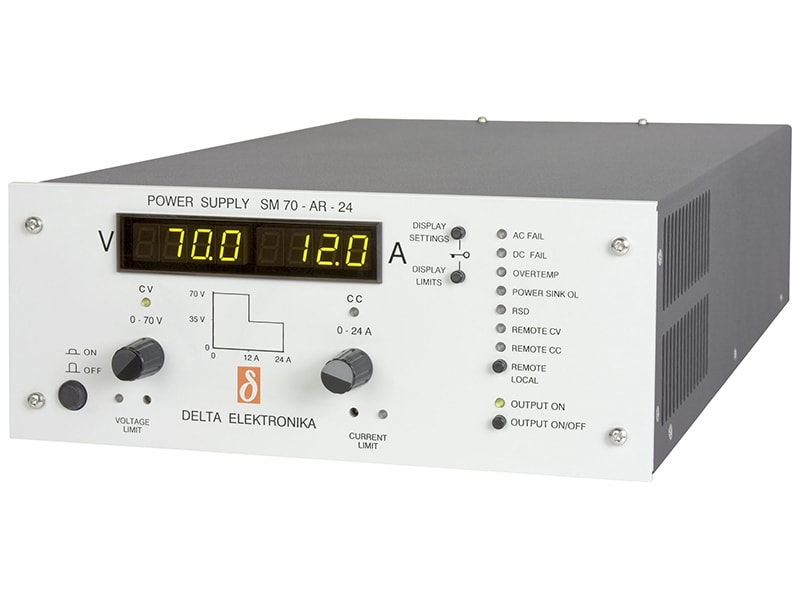 Voltage & Current Programmable Power Supplies