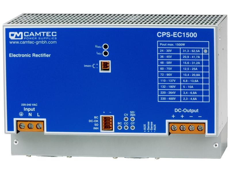 CPS-EC1500 Series 1500W Precision DC Rectifier